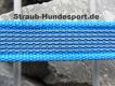 gummierte Nylonleine 20mm breit 2m mit Handschlaufe Farbe: blau