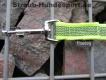 gummierte Nylonleine 20mm breit 5m ohne Handschlaufe Farbe: neongelb