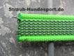 gummierte Nylonleine 20mm breit 5m ohne Handschlaufe Farbe: neon grün