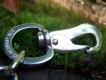 Halskette Edelstahl verstellbar 45cm mit Karabiner