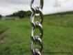 Kettenhalsband runde Glieder Edelstahl 3mm 40cm