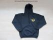 K9 Pullover mit Kapuze schwarz Grösse: XXL