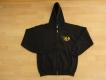 K9 Pullover mit Zipp und Kapuze schwarz Grösse: M