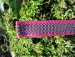 gummierte Sportleine pink 20mm breit 2m ohne Handschlaufe