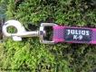 gummierte Sportleine pink 20mm breit 5m ohne Handschlaufe