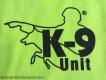 K9 T-Shirt neongelb Grösse: M