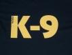 K9 T-Shirt schwarz Grösse: L