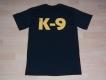 K9 T-Shirt schwarz Grösse: XL