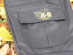 K9 Zipp-Off Hose Grösse: 36 schwarz