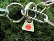 Langgliedkette mit 2 Ringen Edelstahl ultraleicht 37cm
