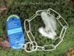 Langgliedkette mit 2 Ringen Edelstahl ultraleicht 44cm