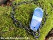 Halskette medium 2 Ringe (Edelstahl brüniert) L=74cm