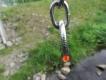 Halskette medium 2 Ringe (Edelstahl) 4mm L=64cm