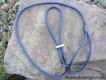 Moxonleine Field Trial mit Zugbegrenzung 6mm 130cm navy blau