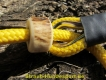 Moxonleine Field Trial Classik 6mm 130cm gelb