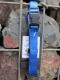 Nylonhalsband Basic Click 30-45cm blau