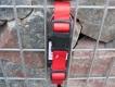 Nylonhalsband Basic Click 45-65cm rot