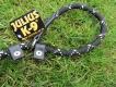 Retrieverleine rund 2m 12mm schwarz Julius-K9