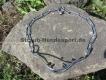 Schauhalsband mit Impulsverstärkern Edelstahl 56cm