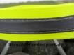 Warnhalsung mit Klettverschluss 35cm neongelb